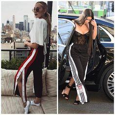 Usar itens esportivos no dia a dia está super em alta. Agora, a queridinha do momento é a calça tracker com fenda lateral, cheia de ilhoses ou botões em toda extensão.   Com a abertura, ela traz uma sensualidade ao visual, sem parecer que é uma peça do universo esportivo. Este modelo está presente nas grandes coleções como Gucci e Adidas. Vale apena se inspirar!   @gucci  @adidas @kimkardashian  #modaazoficial  #trackerpants #kimkardashian #gucci #adidas