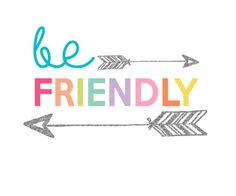 Kids Prints - Be Friendly700