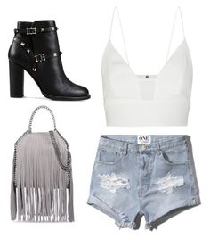"""""""Geen titel #142"""" by smahane-mekdad ❤ liked on Polyvore featuring STELLA McCARTNEY, Abercrombie & Fitch, Narciso Rodriguez and Valentino"""