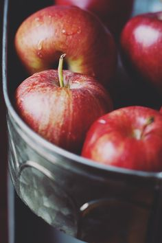 An Apple a Day 8x12 or 16x24 photo, gingham - Eric Ziegler Photography