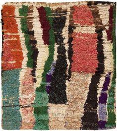 Mid Century Moroccan Rug 45715 Nazmiyal - By Nazmiyal