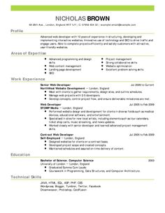 Sample Resumes In Word Example Summary Resumes Template Resume Sample Qualifications .