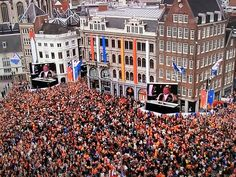 Amsterdam Dutch crowning