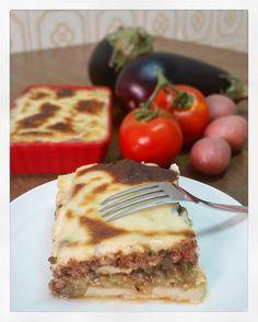 Мусака с печеными баклажанами и белым вином   Полевая кухня