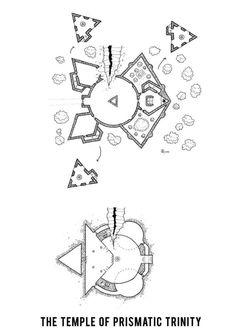 Le temple de la Trinité Prismatique