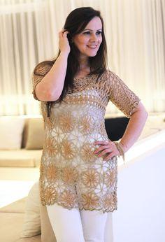 Crochet Hairpin Lace http://multitecnicas.com.br