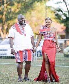 ♥️ Venda Traditional Attire, Traditional Wedding Attire, African Traditional Wedding, African Traditional Dresses, African Print Fashion, Africa Fashion, African Fashion Dresses, African Outfits, African Lace