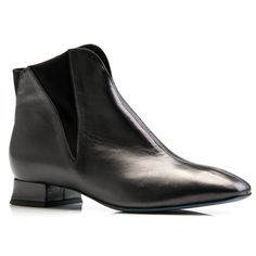 0a5a7279747 Thierry Rabotin Yalta Boot Black Nappa in a 9