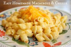 mac and cheese, cheese, easy recipe, homemade macaroni and cheese, shells, noodles, kids recipes, easy kids recipes