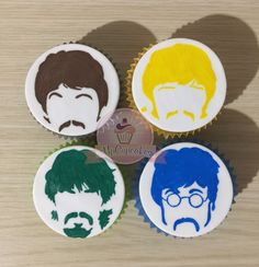 Cupcakes Beatles