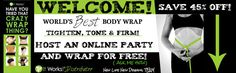 Not sure of what this Crazy Wrap Thing is?? Than, HOST A PARTY & WRAP FOR FREE!!!!!!!  Inbox me to book your party!