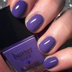 Butter London pantone UltraViolet #COY2018""