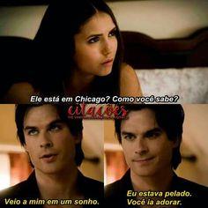 Damon sendo Damon