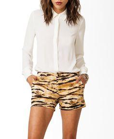 Basic Collar Chiffon Shirt | FOREVER21 - 2031556945