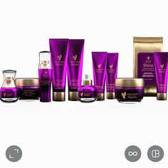 I am so excited Younique Royalty Skin care range