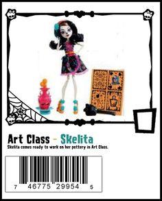 Art Class Skelita