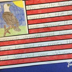 American symbol opinion writing