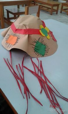Scarecrow Hat, Fall Arts And Crafts, Autumn Art, Lab