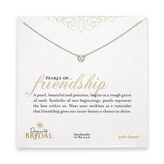 pearls of friendship