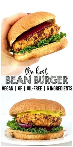 The BEST & Simplest Bean Burgers! (Vegan, Gluten-Free, Oil-Free)