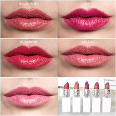 New nūdus Lipstick Swatches are here!
