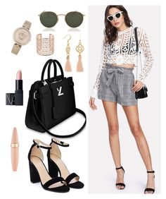 Designer Clothes, Shoes & Bags for Women Nasty Gal, Nars Cosmetics, Maybelline, Versace, Ray Bans, Shoe Bag, Polyvore, Shopping, Collection