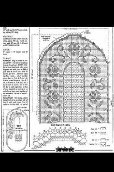 Filet Crochet Charts, Carpet