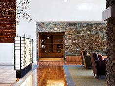 Back wall...  Waterbrook - Lead into Library  Built by www.parkviewgroup.com.au