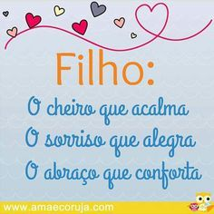 Filhos!  www.amaecoruja.com