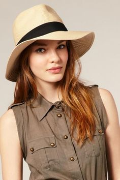 Wide brim = actual shade for your face