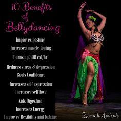 The Top 10 Benefits of Bellydance.