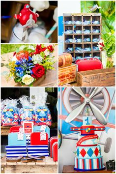 Boys 1st Airplane Themed Birthday Party Ideas Party Ideas
