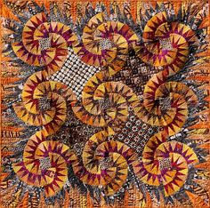 Sand Devils ~ Quiltworx.com  Made by Certified Instructor Cindy Myers