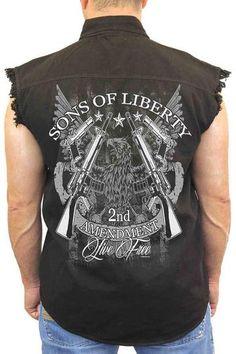 d4a7200608e07e 16 Best Sleeveless Motorcycle Shirts - Cut Off T Shirts for Men ...