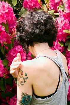 Short Styles for Curly Hair | http://www.short-haircut.com/short-styles-for-curly-hair.html
