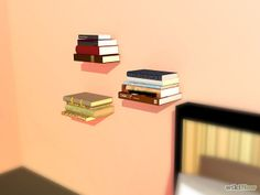 How to Create Invisible Shelves