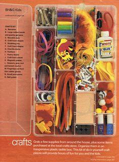 Babysitting Kit Part IV (BH&G, Sept 2002)