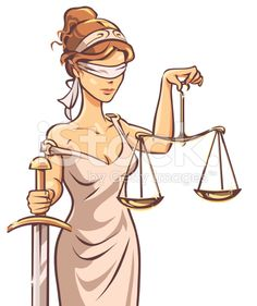 Blind Lady Justice stock vector art 30305146 - iStock                                                                                                                                                     More