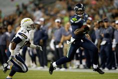 Seahawks follow their quarterbacks' lead in running past Chargers