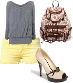 """Me Just Bein' Me"" by tayler-garrison ❤ liked on Polyvore"