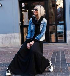 Women S Fashion Trivia Questions Older Women Fashion, Black Women Fashion, Look Fashion, Autumn Fashion, Womens Fashion, Looks Style, Looks Cool, Casual Looks, Mode Outfits