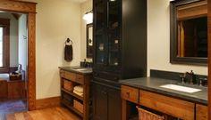 Bathroom Signature Black | Crystal Cabinets