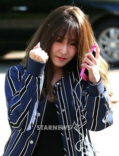 Check out the video and pictures from SNSD Tiffany's arrival at Music Bank ~ Wonderful Generation