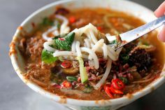 Dishes to try in Penang, Malaysia.