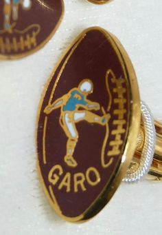 Vintage Garo Yepremian Miami Dolphins Football Player Cufflinks Never Used Miami  Dolphins cb9b8995a