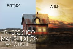 In this Tutorial You gonna learn How to Sky Overlay , adding Lights to the Window , Dodge & Burn , Adding Sun flare, Day to night , & More Staff to Create Am...