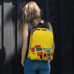 Backpack sold by Love . Sports Activities, Are You The One, Fashion Backpack, Print Patterns, Laptop, Weather, Backpacks, Zipper, Pockets