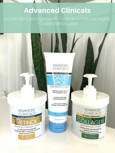 Affordable Skincare from Advanced Clinicals {Giveaway}