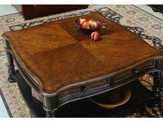 Hooker Furniture Living Room Preston Ridge Square Cocktail Table 864-80-112