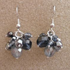 Damselfly Gemma: Cluster Earrings Tutorial
